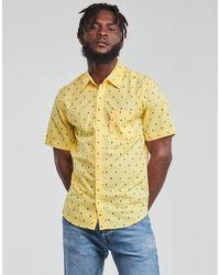 Levi's Camisa manga corta HACKMANITE DUSKY CITRON - Amarillo