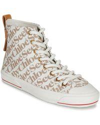 See By Chloé Sneakers Alte Aryana - Neutro