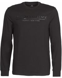 Armani Exchange T-shirt 6HZTRW - Noir