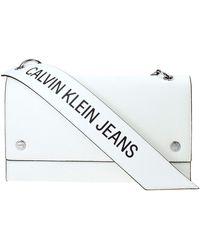Calvin Klein Handtas K60k606159 - Wit