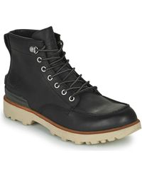 Sorel CARIBOU MOC WP Boots - Noir