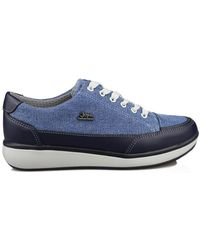 Joya Lage Sneakers Sonja W - Blauw