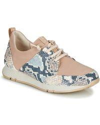 Hispanitas Lage Sneakers Kioto - Naturel