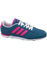 adidas City Racer W Chaussures - Bleu