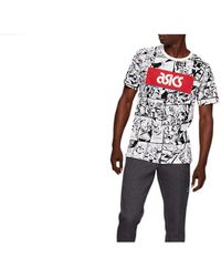 Asics TF M Graphic SS 1 Tee - Blanco