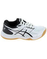 Asics Upcourt 4 Jr Blanc Noir Chaussures