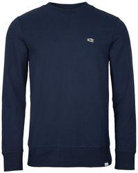 O'neill Sportswear Sweater Jack's Wave Crew - Blauw