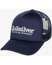 Quiksilver Filtration AQYHA04668-BLG0 Casquette - Bleu