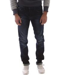 Gas Skinny Jeans 351144 - Blauw