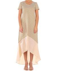 Twin Set - 2034 vestidos mujer beige - Lyst