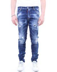 DSquared² Skinny Jeans S74lb0763s30342 - Blauw