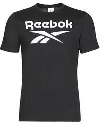 Reebok T-Shirt Gs Reebok Stacked T - Nero
