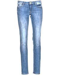 Le Temps Des Cerises 316 Women's Skinny Jeans In Blue