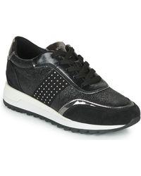 Geox Lage Sneakers Tabelya - Zwart