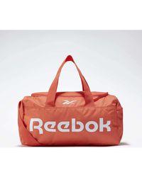 Reebok Bolsa de deporte Bolsa pequeña Active Core Grip Duffel - Naranja