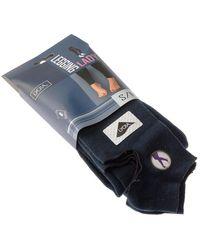 Intersocks Legging chaud long - Coton - Ultra opaque Collants - Bleu