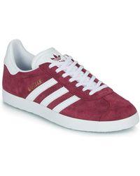 adidas Lage Sneakers Gazelle - Rood