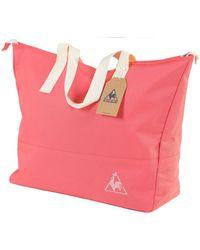 Le Coq Sportif - Chronic Galium Shopping Calypso Coral Men's Bag In Pink - Lyst