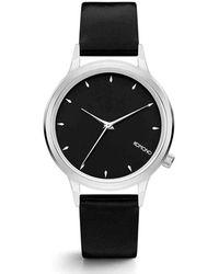 Komono Horloge Lexi Black Silver - Zwart
