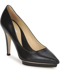 Moschino CLASSIC HEART femmes Chaussures escarpins en Noir