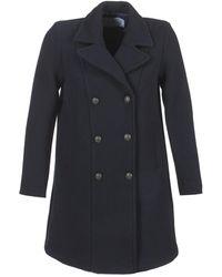Loreak Mendian - Elkano Women's Coat In Blue - Lyst