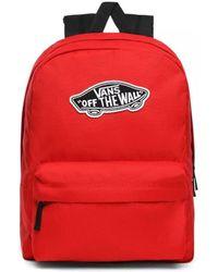 Vans Old Skool III Backpack Sac à Dos Loisir, 42 Centimeters - Rouge