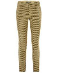 Guess Pantalon Gioia Chino Jaune Chinots - Vert