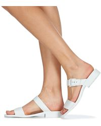Lemon Jelly Carly Sandals - White