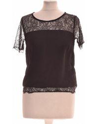 Lipsy Top Manches Courtes 34 - T0 - Xs Blouses - Noir