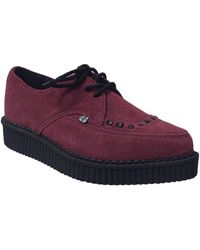 T.U.K. A9154 Chaussures - Rouge