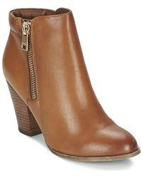 ALDO - Janella Women's Low Ankle Boots In Brown - Lyst