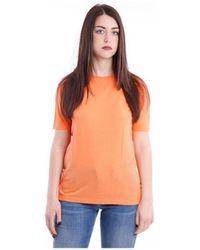 Aspesi T-SHIRT GIROCOLLO - Arancione