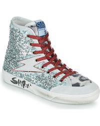Semerdjian Hoge Sneakers Yote - Metallic