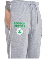 KTZ JOGGER NBA STRIPE PIPING BOSTON CELTICS / GRIS Jogging