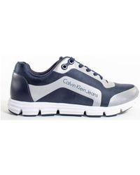 Hommes En Chaussures Bleu Nylon Morris 4jq35RLA