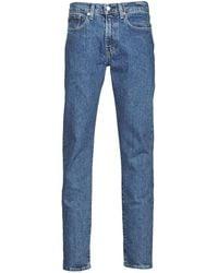 Levi's Straight Jeans Levis 502 Taper - Blauw