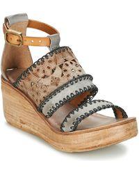 A.S.98 - Noa Women's Sandals In Grey - Lyst
