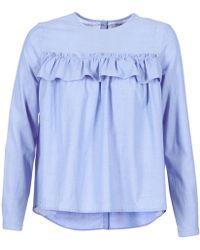 Betty London - Houra Women's Shirt In Blue - Lyst