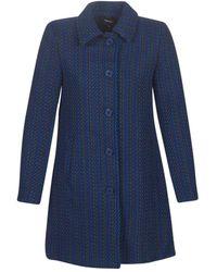 Desigual Mantel Noa - Blauw