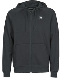 Under Armour Sweater Ua Rival Fleece Fz - Zwart