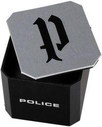 Police PL14796JS.61, Quartz, 46mm, 5ATM Montre - Métallisé
