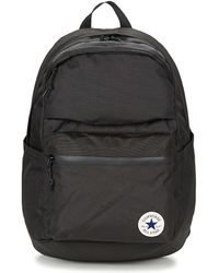 Converse - Poly Chuck Plus 1.0 Men s Backpack In Black - Lyst cd01800dac8b5