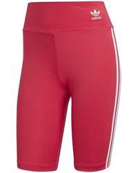 adidas Panties SHORT TIGHTS CORTI FUCSIA - Rojo