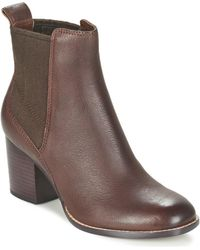 Clarks - Othea Ruby Women's Low Ankle Boots In Brown - Lyst