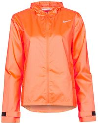 Nike Cortaviento ESSENTIAL JACKET - Naranja
