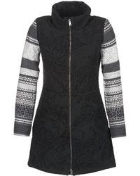 Desigual Mantel Grame - Zwart