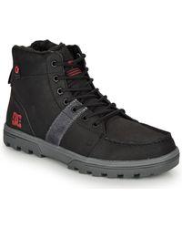 DC Shoes Hoge Sneakers Woodland - Zwart