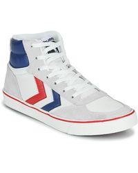 Hummel Hoge Sneakers Stadil High Ogc 3.0 - Wit
