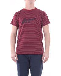 Saint Laurent T-shirt Korte Mouw 579056ybiw2 - Rood
