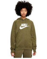 Nike Sweater Sudadera Con Capucha Mujer Bv4126 - Groen
